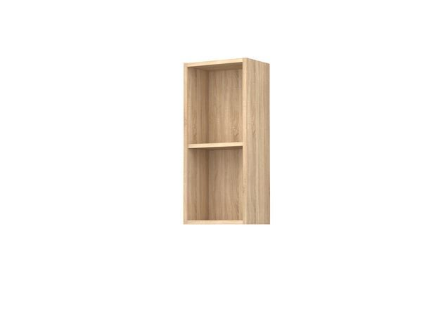 Nabis Open Shelf Wall Unit 300Mm Natural Oak