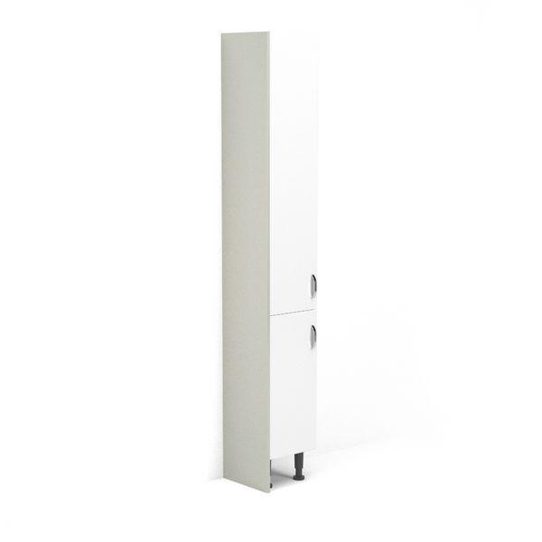 Nabis Tall Cladding Panel Silver Grey Gloss