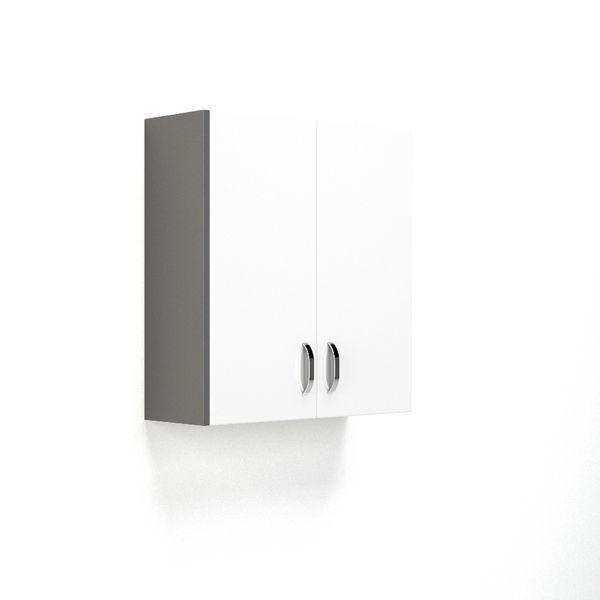 Nabis Wall Cladding Panel 175 X 660Mm Charcoal Grey Gloss