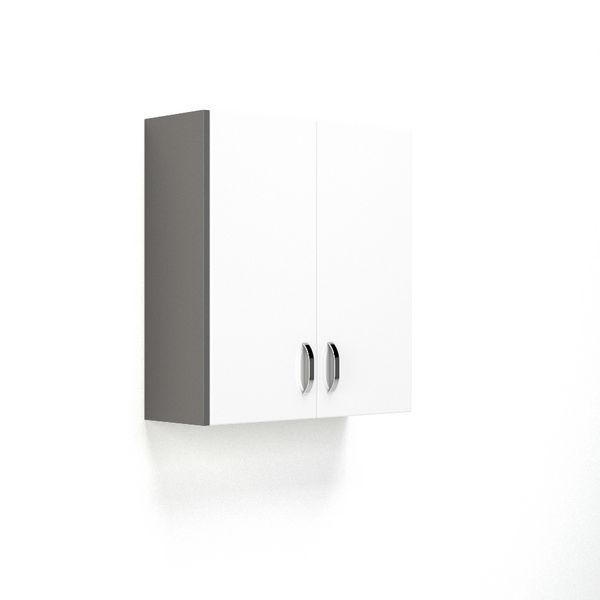 Nabis Wall Cladding Panel 175 X 693Mm Charcoal Grey Gloss
