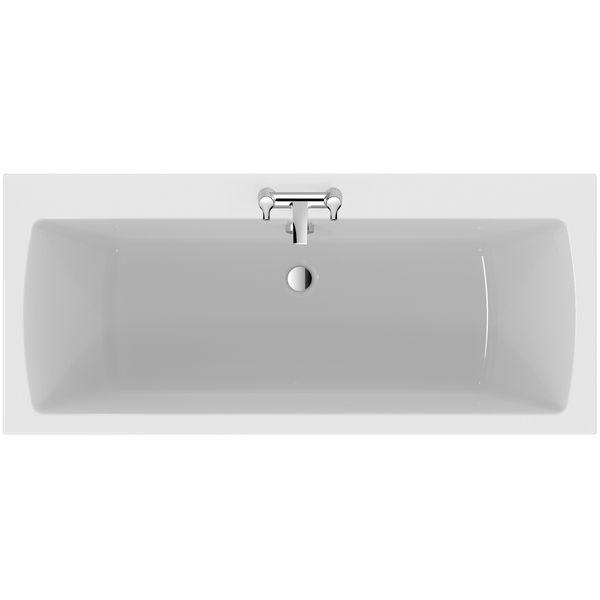 Tempo E2566 Arc 1700X750 Nth D/E Bath Wh