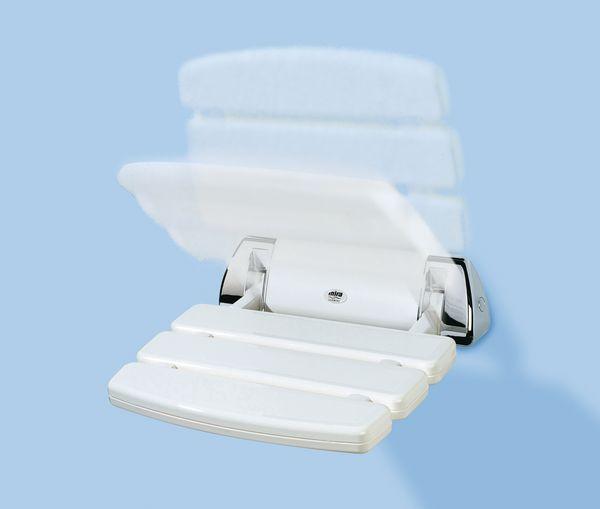 Mira Folding Shower Seat White