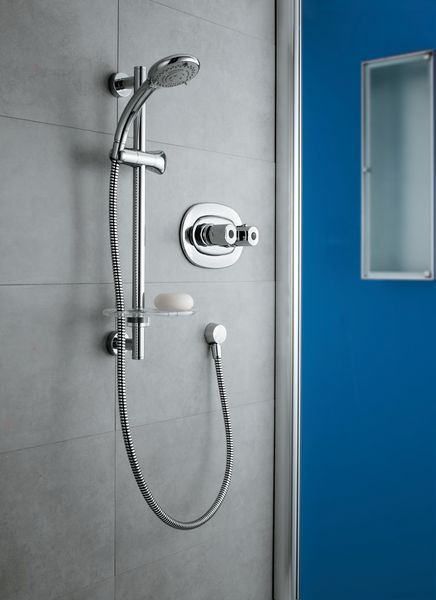 Trevi A3000 Thermostatic Built In Mixer Chrome Plated