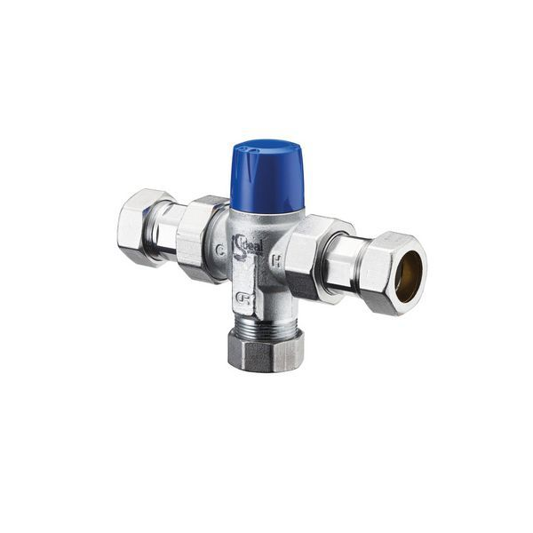 Therm Mixing Valve 22Mm Chrome