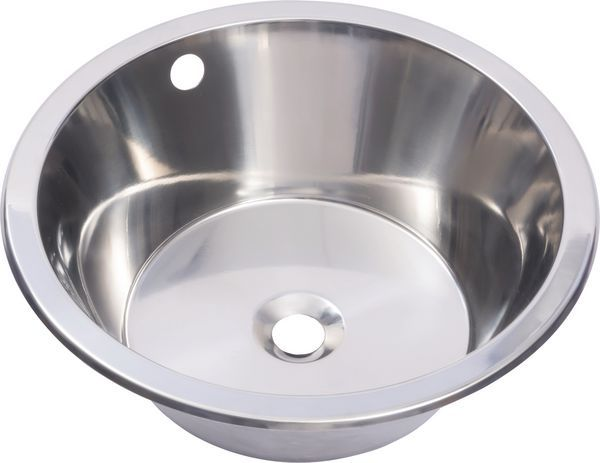 Franke 380X160 Round Inset Sink Bowl Stainless Steel
