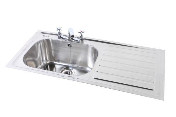1028X500 Htm64 Hosp Inset Sink Rhd Ss