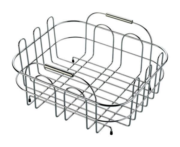 Small Benchtop Draining Basket St/St