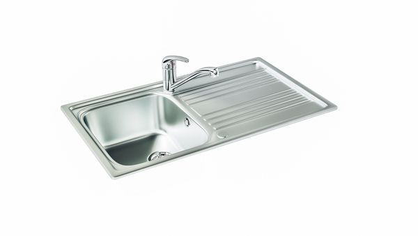 Rapid 90 Stainless Steel Sink 500Mm