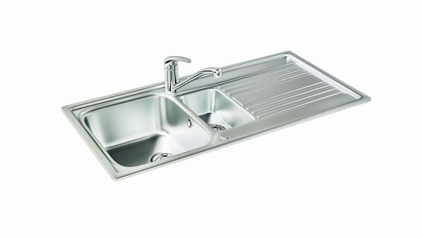 Rapid 150 Stainless Steel Sink 600 Mm