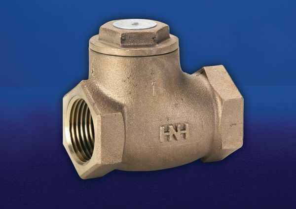 Hnh-47 Bsp Bronze Swing Check Valve 25