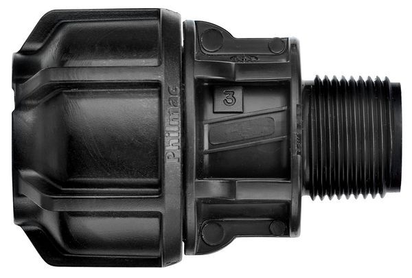 Philmac 3G End Connector Pxm 9276 63-2X2