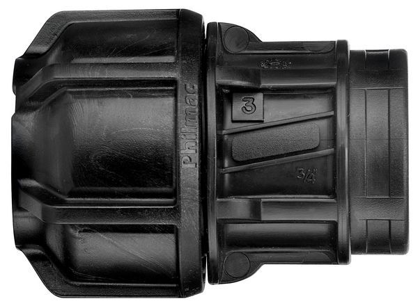 Philmac 3G End Connector Pxf 9822 20-1/2X3/4