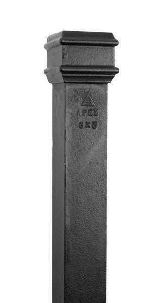 3X3 X6ft Rect Pipe No Ears P33/6Ft/Ne