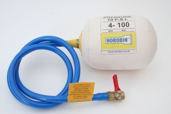 Horobin 100Mm Canvas Air Bag + Tap 81031
