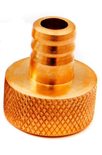 Horobin Brass Drain Plug Cap Test Nipple 1/2
