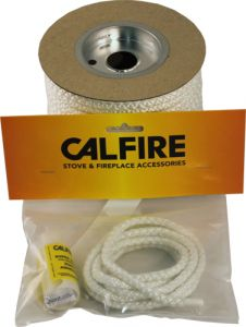 White Rope Seal Pack (With 80Ml Super Silicone) 6Mm X 2M