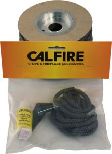 Soft Black Rope Seal Pack (With 80Ml Super Silicone) 8Mm X 2M