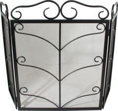 Decorated Wrought Fs 3F Black 580H 450W 200Wings