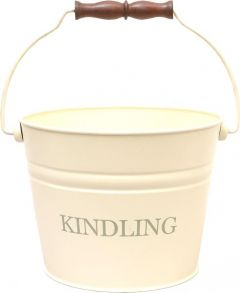 Small Ivory Kindling Bucket Printed 230
