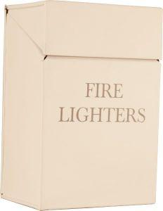 Ivory Fire Lighters Box Printed 200H X 135W X 90D
