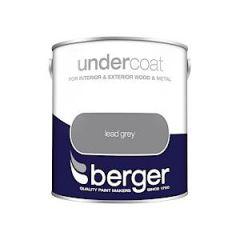 Berger Undercoat Lead Grey 2.5L