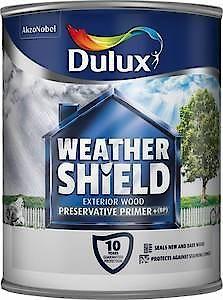 Dulux Weathershield Presevativ Primer+ 750Ml