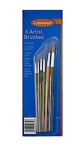 Lynwood Artist Brushes (6) Br561