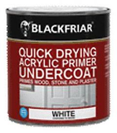 Blackfriar Acrylic Undercoat Primer 250Ml