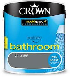 Crown Bath Sheen Tin Bath 2.5L