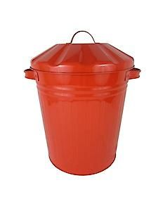 Mini Bin 12L Powdercoat Red 77043