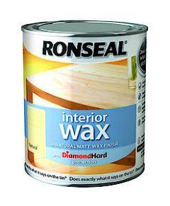 Ronseal Dh Int Woodwax Medm Oak 750Ml