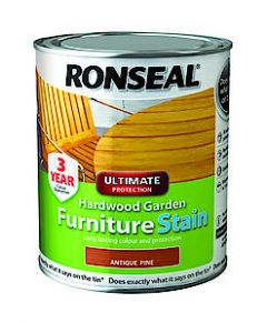 Ronseal Ult.Hardwd Stn Clear Matt 750Ml