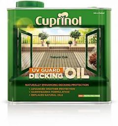Cuprinol Uv Grd Deck Oil Nat Oak 5L