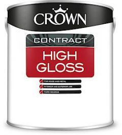 Crown Contract High Glos Bril White 2.5L