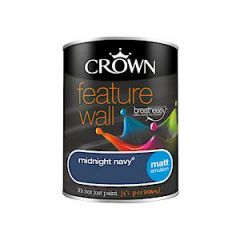 Crown Feat Wall Midnight Navy 1.25L