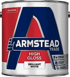 Armstead High Gloss White 5L