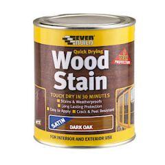 Evb Woodstain Satin Dark Oak 750Ml