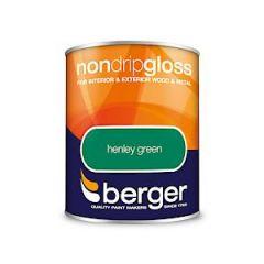 Berger Nd Gloss Henley Green 750Ml