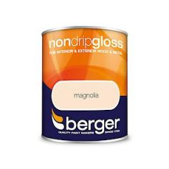 Berger Nd Gloss Magnolia 750Ml