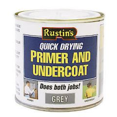 Rustins Grey Primer & Undercoat 250Ml