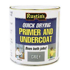 Rustins Grey Primer & Undercoat 1L