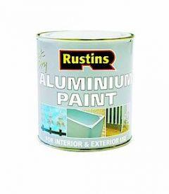 Rustins Quick Dry Aluminium Paint 500Ml