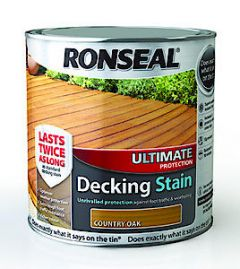 Ronseal Ult Deck Stain Rich Mahg 2.5L