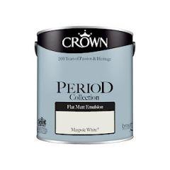 Crown Period Matt Maypole White 2.5L