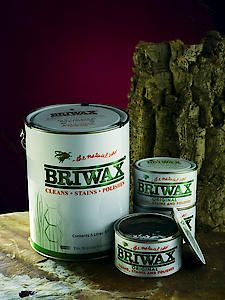 Briwax Original Medium Brown 400Gm