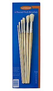 Lynwd Rnd Fitch Brush Cd6 Br552