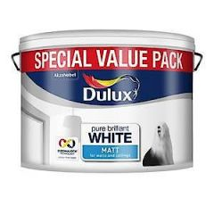 Dulux Matt Pure Brilliant White 2.5L