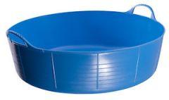 Flks Shallow Tubtrug Blue 35L