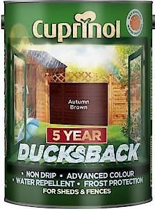 Cuprinol Ducksback Autumn Brown 5L