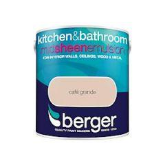 Berger Kitchen & Bathroom Sheen Cafe Grande 2.5L